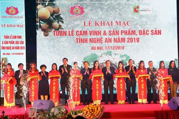 Khai mac Tuan le cam Vinh va san pham, dac san Nghe An tai Ha Noi hinh anh 3