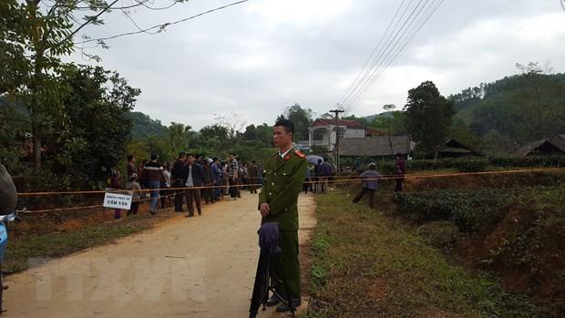 Vu tham sat tai Thai Nguyen: Tham hoi, dong vien gia dinh nan nhan hinh anh 1
