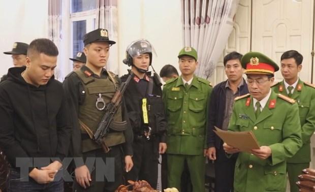 Quang Binh bat giu nhieu doi tuong lien quan den cho vay nang lai hinh anh 1