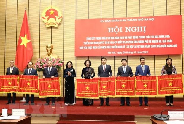 Pho Chu tich nuoc: Ha Noi da thuc hien tot cac phong trao thi dua hinh anh 1