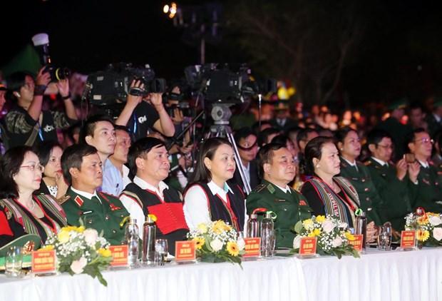 """Chu tich Quoc hoi du chuong trinh """"Xuan Bien phong am long dan ban"""" hinh anh 1"""