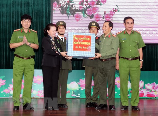 Chu tich Quoc hoi Nguyen Thi Kim Ngan tham, chuc Tet tai tinh Dak Lak hinh anh 2