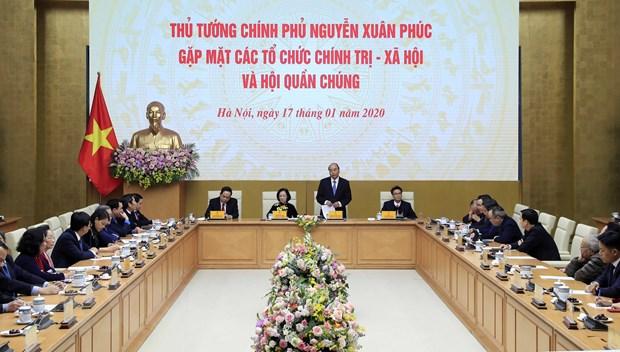 Thu tuong gap mat dai dien to chuc chinh tri-xa hoi va hoi quan chung hinh anh 2