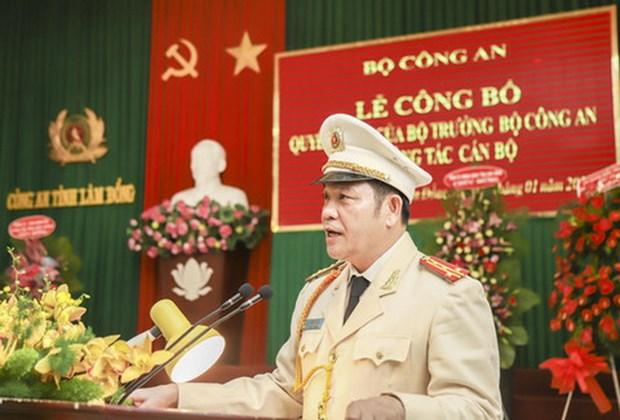 Dieu dong Pho Giam doc Cong an Dak Nong lam Giam doc Cong an Lam Dong hinh anh 1