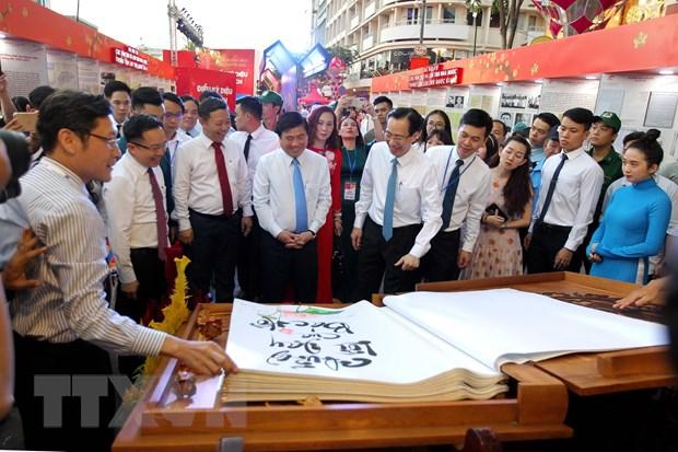 Khai mac Le hoi Duong sach Thanh pho Ho Chi Minh Tet Canh Ty 2020 hinh anh 1