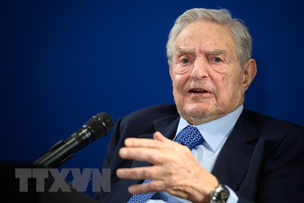 Dien dan Kinh te the gioi 2020: Ty phu George Soros dong gop 1 ty USD hinh anh 1