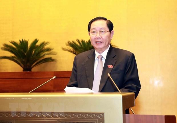 Bo truong Noi vu Le Vinh Tan: Can bo phai co cai tam ngang cai tam hinh anh 1