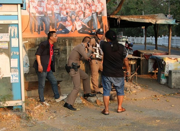 Xa sung dam mau tai Thai Lan: It nhat 17 nguoi thiet mang hinh anh 1
