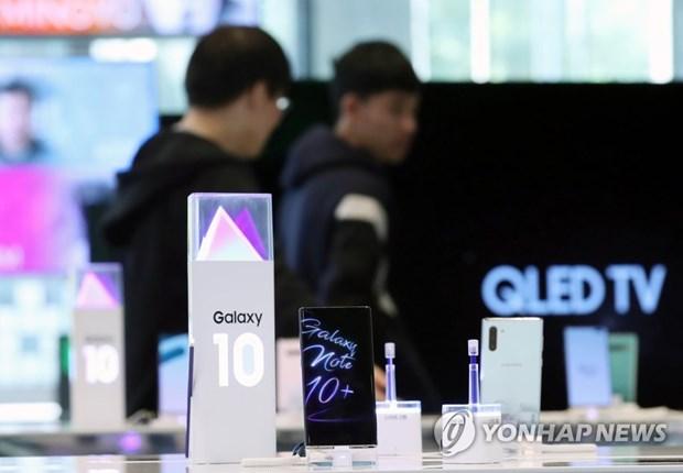 Apple thach thuc Samsung o thi truong smartphone Han Quoc hinh anh 1