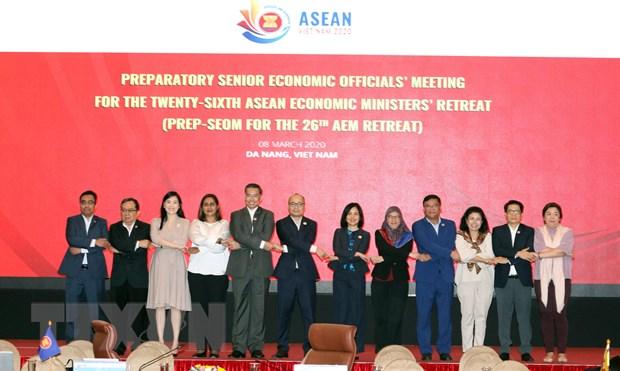 Viet Nam de xuat 13 uu tien cho Hoi nghi Bo truong Kinh te ASEAN hep hinh anh 1