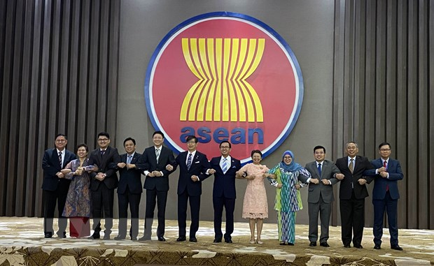 ASEAN va Nhat Ban cam ket tang cuong quan he doi tac chien luoc hinh anh 1