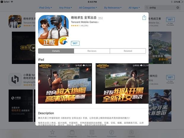 Khoang 20.000 tro choi tren iPhone co the bi xoa tai Trung Quoc hinh anh 1