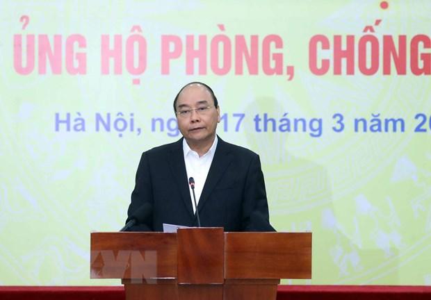 Thu tuong: Can nhieu hon su chia se, chung tay dong gop chong dai dich hinh anh 1