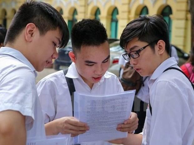 Thi THPT quoc gia 2020: Giam do kho trong de thi tham khao hinh anh 1