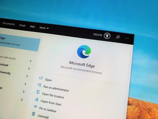 Microsoft Edge tro thanh trinh duyet web may tinh pho bien thu hai hinh anh 1