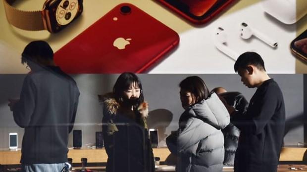 Apple ban duoc khoang 2,5 trieu iPhone tai Trung Quoc trong thang 3 hinh anh 1