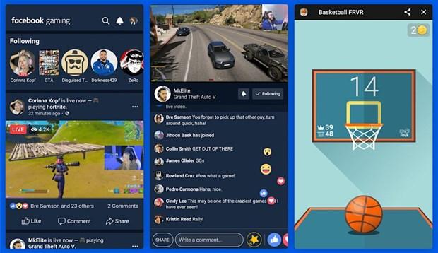 Facebook sap ra ung dung choi va phat video game truc tuyen hinh anh 1