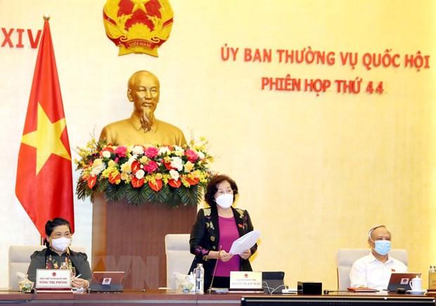 Khai mac Phien hop thu 44 cua Uy ban Thuong vu Quoc hoi hinh anh 2