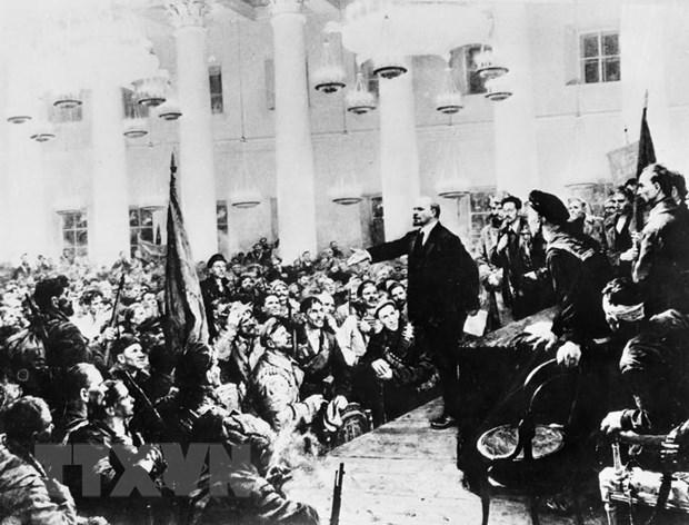 V.I.Lenin voi nhung cong hien vi dai vi su tien bo cua nhan loai hinh anh 1