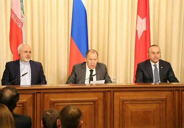 Nga, Iran va Tho Nhi Ky nhan manh tien trinh Astana cho hoa binh Syria hinh anh 1