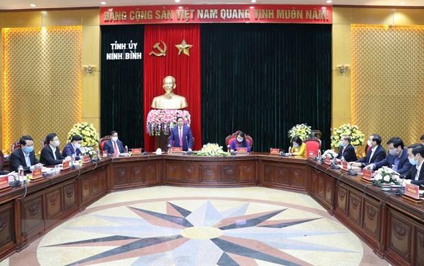 Dieu dong Bi thu Ninh Binh lam Pho Truong ban To chuc TW hinh anh 3