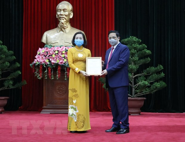 Dieu dong Bi thu Ninh Binh lam Pho Truong ban To chuc TW hinh anh 1