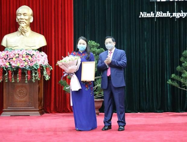 Dieu dong Bi thu Ninh Binh lam Pho Truong ban To chuc TW hinh anh 2