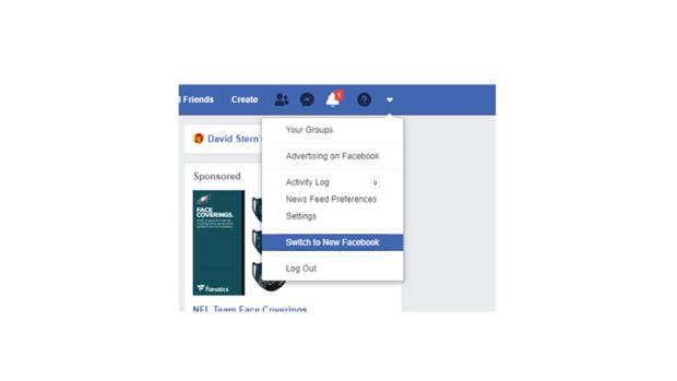 Facebook bat dau phat hanh giao dien web hoan toan moi hinh anh 1