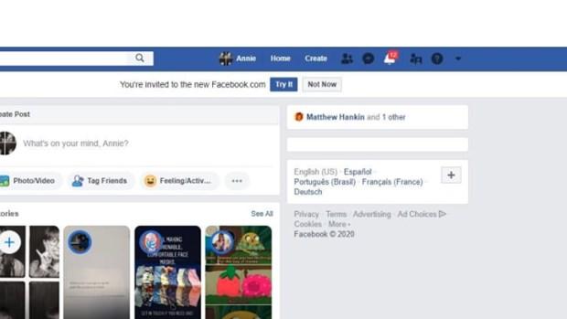 Facebook bat dau phat hanh giao dien web hoan toan moi hinh anh 2