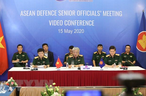 Hinh anh Hoi nghi truc tuyen Quan chuc Quoc phong cap cao ASEAN hinh anh 6