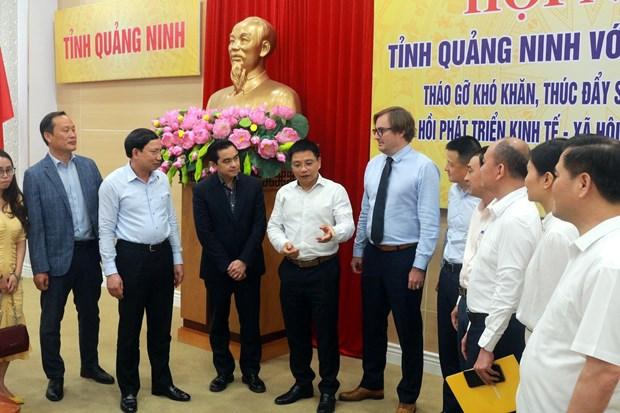Quang Ninh to chuc hoi nghi thao go kho khan cho doanh nghiep hinh anh 1