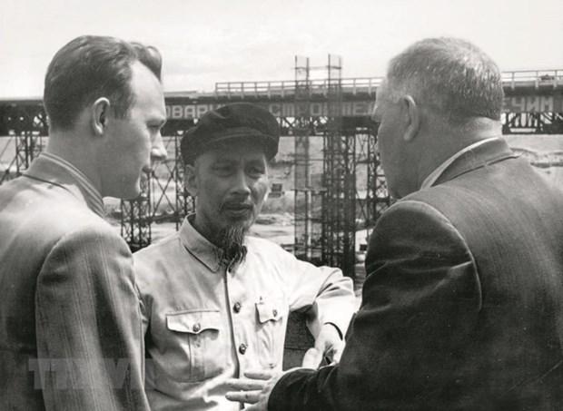 Dau an cua Chu tich Ho Chi Minh tai Lien Xo nam 1955 hinh anh 1