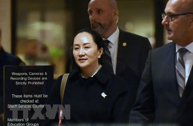 """Vu dan do CFO cua Huawei: My thang trong """"hiep dau"""" dau tien hinh anh 1"""
