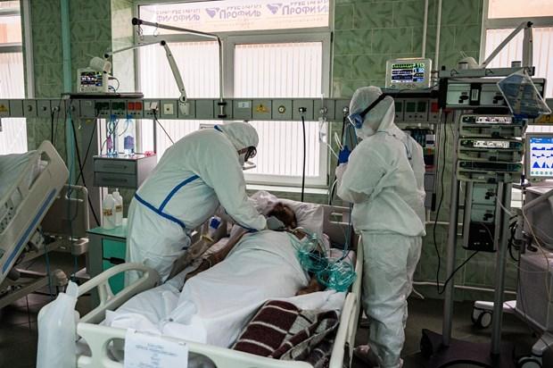 Lien bang Nga ghi nhan them gan 9.000 nguoi nhiem moi SARS-CoV-2 hinh anh 1