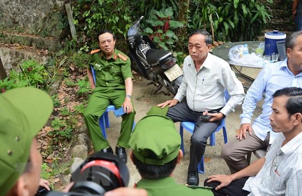 Lanh dao Cong an Da Nang len Hai Van chi dao truy bat tu vuot nguc hinh anh 1