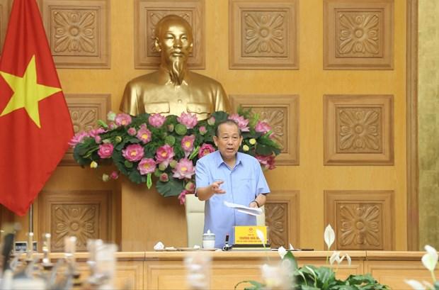 Pho Thu tuong: Kien quyet cho pha san cac du an khong the tai co cau hinh anh 1