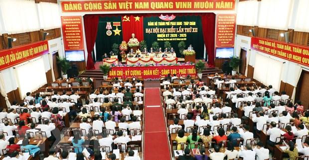 Ninh Thuan to chuc dai hoi dang bo cap tren co so dau tien hinh anh 1