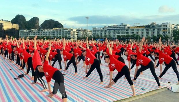 Ngay Quoc te Yoga lan thu 6 thu hut gan 3.000 nguoi tham gia hinh anh 4
