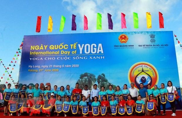 Ngay Quoc te Yoga lan thu 6 thu hut gan 3.000 nguoi tham gia hinh anh 5