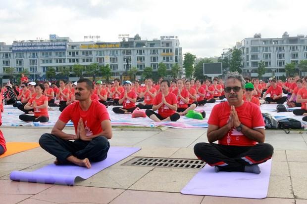 Ngay Quoc te Yoga lan thu 6 thu hut gan 3.000 nguoi tham gia hinh anh 3