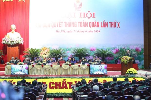 Thu tuong du Dai hoi Thi dua quyet thang toan quan lan thu X hinh anh 3