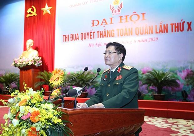 Thu tuong du Dai hoi Thi dua quyet thang toan quan lan thu X hinh anh 1