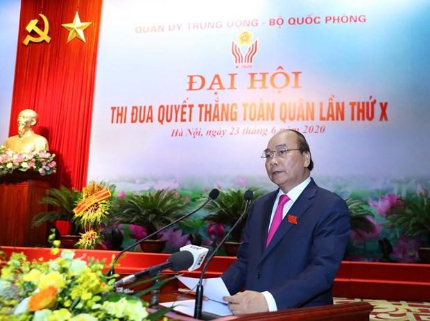 Thu tuong du Dai hoi Thi dua quyet thang toan quan lan thu X hinh anh 2