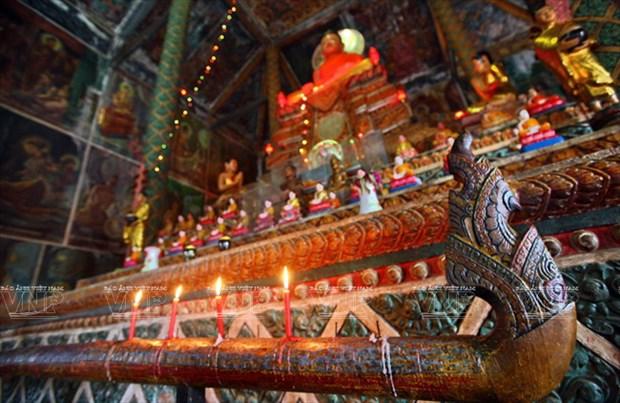 Chua Xien Can - long lay kien truc Khmer cua Bac Lieu hinh anh 10