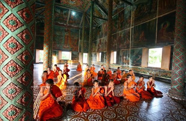 Chua Xien Can - long lay kien truc Khmer cua Bac Lieu hinh anh 12