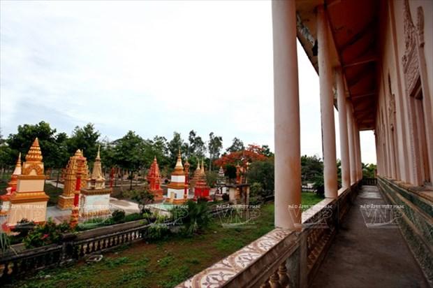Chua Xien Can - long lay kien truc Khmer cua Bac Lieu hinh anh 13