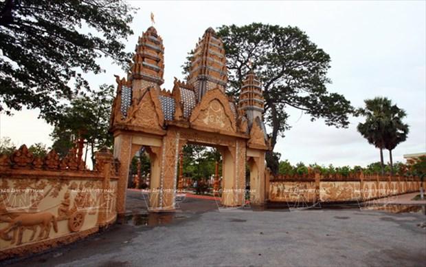 Chua Xien Can - long lay kien truc Khmer cua Bac Lieu hinh anh 3