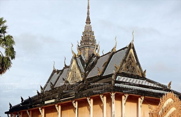 Chua Xien Can - long lay kien truc Khmer cua Bac Lieu hinh anh 4