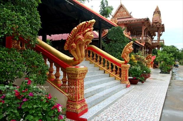 Chua Xien Can - long lay kien truc Khmer cua Bac Lieu hinh anh 5