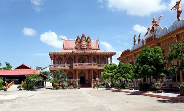 Chua Xien Can - long lay kien truc Khmer cua Bac Lieu hinh anh 7